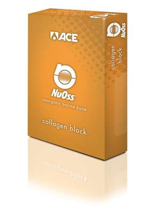 NuOSS Collagen Hueso  bovino  bloques  ACE